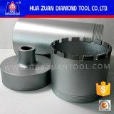 Huazuan 3 Parts Reinforced Concrete Diamond Core Drill Bit