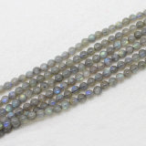 Wholesale Natural Labradorite Stone Bead Round Shape 5mm 6mm