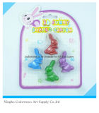 32g 4PCS 3D Plastic Crayons for Students and Kids