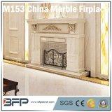 Elegant Building Interior Design - Fireplace Natural Stone Marble & Granite Material