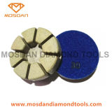 3'' Dry Resin Bond Diamond Polishing Pads 15mm Thickness