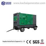108kw/135kVA Standby Power Trailer Mounted Type Silent Diesel Generator