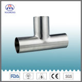 Sanitary Stainless Steel Pipe Fitting: Welded Equal Tee (IDF-No. NM034161)