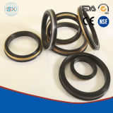 """2"""", 3"""", and 4""""with Rubber and Brass Lip Hydraulic Cylinder Seal"""