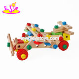 New Hottest Educational Sensory Wooden DIY Screw Toy for Kids W03c027