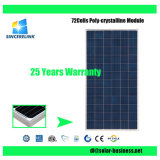High Quality 300W, 310W, 320W, 325W, 330W, 340W 72cells Poly Solar Panel Solar Module