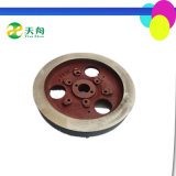 Machine Engine Parts Cast Iron Diesel Engine S195 Flywheel