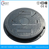 D400 Round En124 Composite Resin 600*50mm Double Seal Manhole Cover