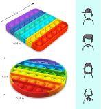 Push Pop Bubble Kids Toy Special Need Silent Sensory Fidget Autism