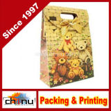 Custom Printed Cute Gift Paper Bag (3219)