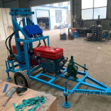 Water Well Drilling Rigs Including High Pressure Water Pump, Drill Pipe and Diamond Drill Bits