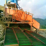 Portable Gold Sluice Box for Gold Mining with Gold Trommel