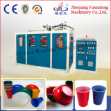 Automatic Four Pillar Plastic Water Cup Plate Food Box Conainer Making Machine