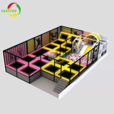 Children Playground Commercial Indoor Large Bungee Jumping Trampoline Park