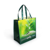 New Fashion Recyclable Polyester Foldable Cheap Non Woven Fabric Shopping Bag
