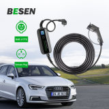 16A Type 1 Portable EV Home Charger for Electric Vehicle Charging Cable Schuko Plug