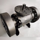Zero Leakage Forged Steel A105 A350 Lf2 Body Soft Seat Primary Metal Seat Weld Overlay Inconel 625 Flange Floating and Trunnion Mounted Ball Valve