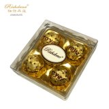 5PCS Diamond Square Peanut Milk Palm Oil Chocolate