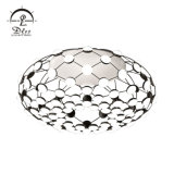 Acrylic Globe Web Chandelier Lamp and Ceiling Light for Living Room