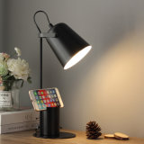 Creative Nordic Iron Art Table Lamp LED Fashion Reading Dimming Desk Lamp with Plug (WH-MTB-55)