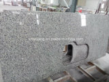 Swan White/Grey Granite Counter Top for Kithen and Bathroom