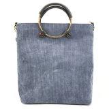 China Factory Wholesale Designer Big Shopping PU Leather Women Tote Handbags