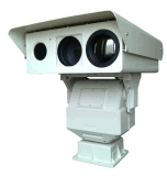 Multi-Sensor Infrared PTZ Thermal and Laser Security Camera