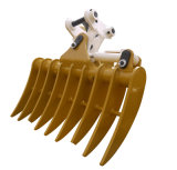 Excavator Rake Bucket for Cat320, Excavator Attachment