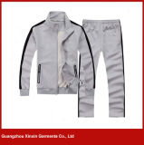 Custom 100% Cotton Sport Wear Tracksuit Uniform Factory (T25)