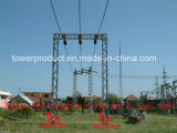 Megatro 35kv Transmission Line Lattice Steel Tower