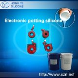Producing Electronic Potting Compound Silicone Rubber