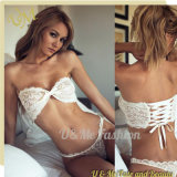 White Lace Strapless Tube Meitun Sexy Lingerie
