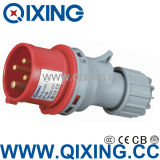 3 Phase Mobile Male Plug for CE Certification (QX-252)