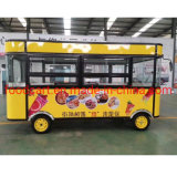 Electrical Fast Food Truck Mobile Food Cart Trailer Vending Cart for Ice Cream, Coffee, Hot Dog, Donut, Flower