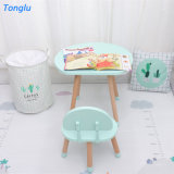 New Design Cheap Preschool Kids Furniture Wooden Children Study Table and Chair