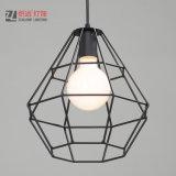 Modern Simple Lighting Coffee Shop Art Decor Suspension Iron Pendant Lamp