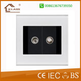 China Wholesale Cheap Price TV+Satellite Wall Socket