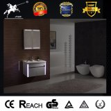 Foshan Supplier Ss Bathroom Vanity with Lighting Mirror 076