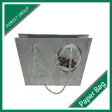 Silver Color Printing Shopping Bag for Wholesale