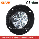 Flush Mount 18W 4.8inch Rond Osram LED Work Light (GT2009A-18W)