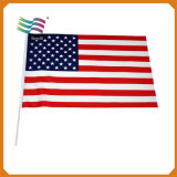 Activity Usage Gift Custom Cheap Small Hand Shaking Flags with Logo