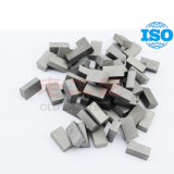 K10 K20 K30 Tungsten Cemented Carbide Brazed Tips for Cutting