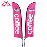 Outdoor Single Double Sided Print Teardrop Flags and Beach Feather Flag