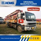 Second Hand XCMG Hb37 Truck Mounted Concrete Pump with Mixer