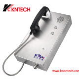 Emergency Phone with Enhanced Weather Protection Flush Mount Phone Knzd-35