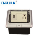 One-Way Floor Socket with USB Port B120-163