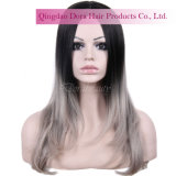 Factory Wholesale Good Quality Chinese Human Hair Ombre Custom Lace Wig