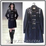 Women Lady New Fashion Winter Wool Long Jacket
