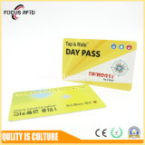PVC RFID Card Em4200/Tk4100 /MIFARE 1K/Ntag/DESFire EV1 for Public Transportation Ticket