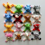 Different Choices Plush Animal Toys Fridge Magnets Helping Put Notes on Fridge Doors